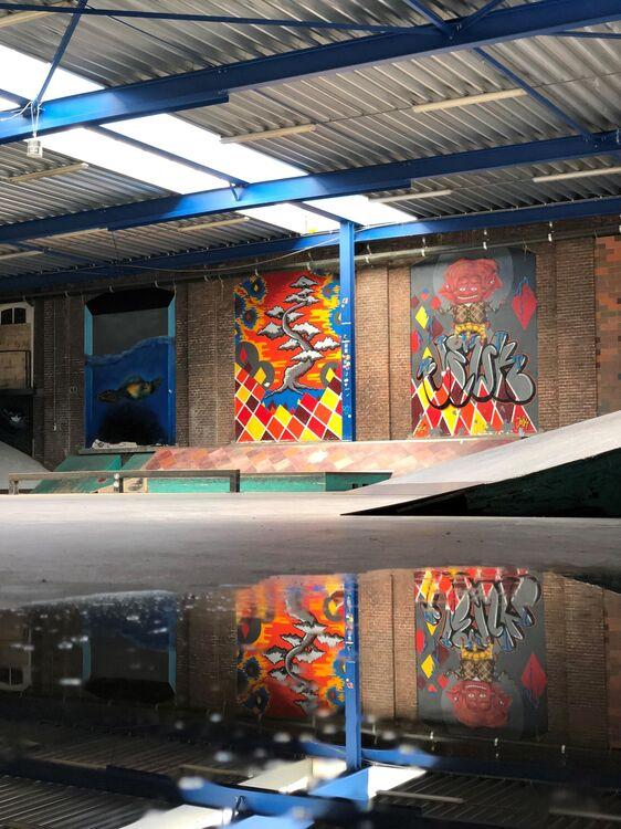Ladybird skatepark voorlopig gesloten